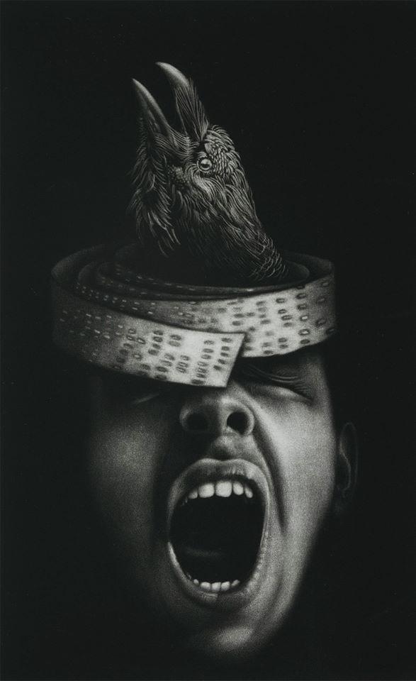 Deborah Lulu Chapman, « Destіns parallèlеs », 40 x 29 cm, 2017.