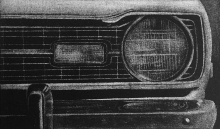 Johannes Vandenhoeck, « Flashback 1976», 2017.