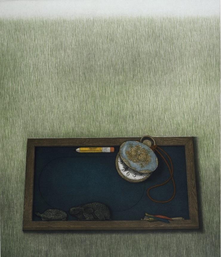 HWANG KyuBaik, « The tortoise and the hare », 1983.