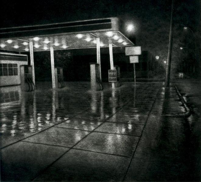 Timothy Smith, « Gas Station », 2009.