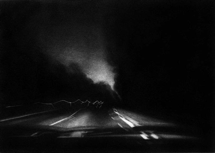 Sylvia Bataille, « Autoroute 1 ».